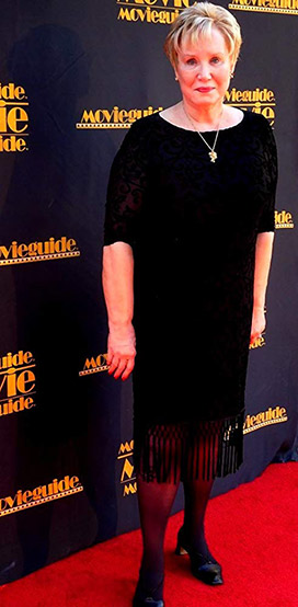 Diane Howard on the Red Carpet